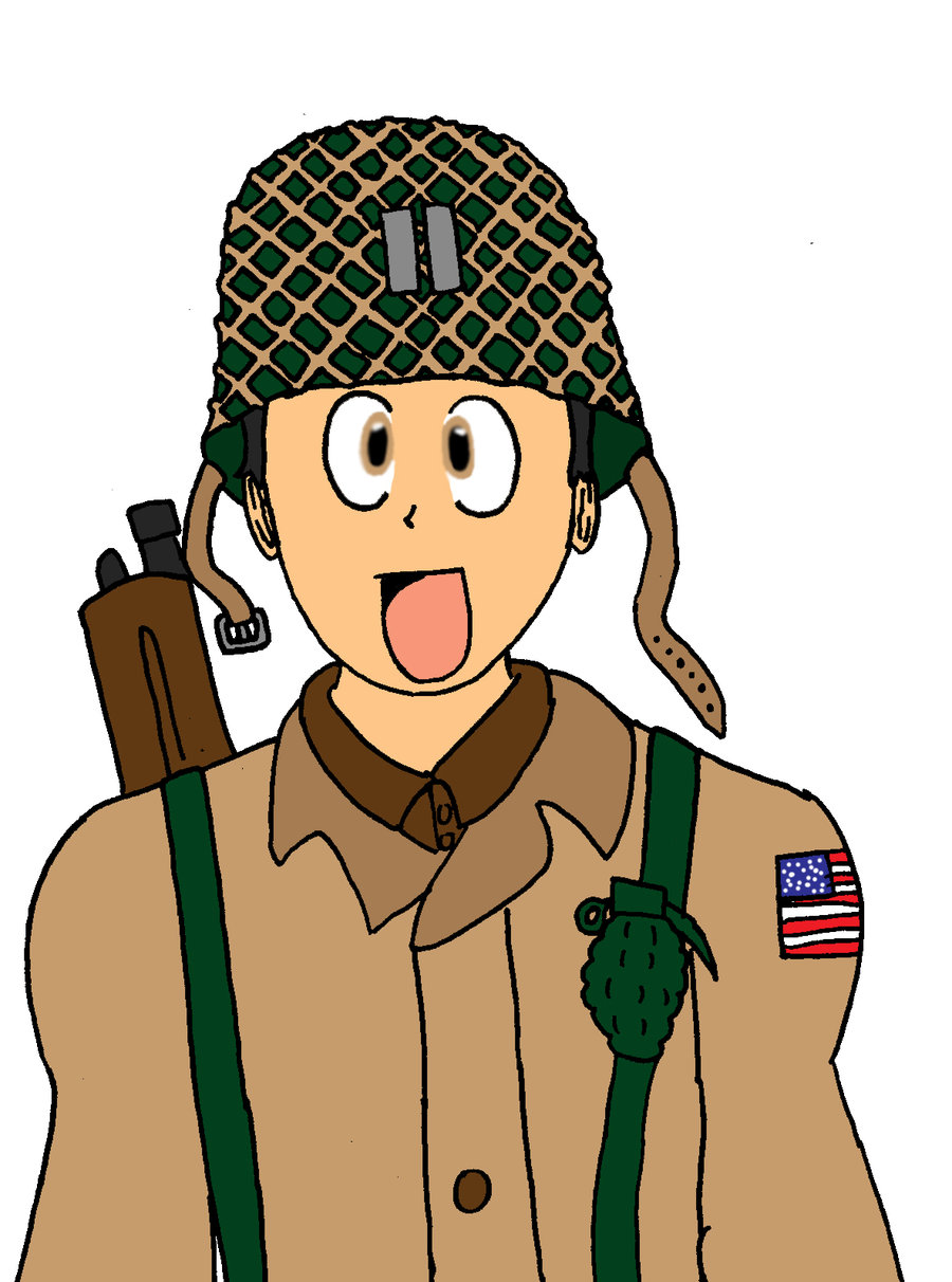 Soldiers clipart wwii Soldier by Zero  by