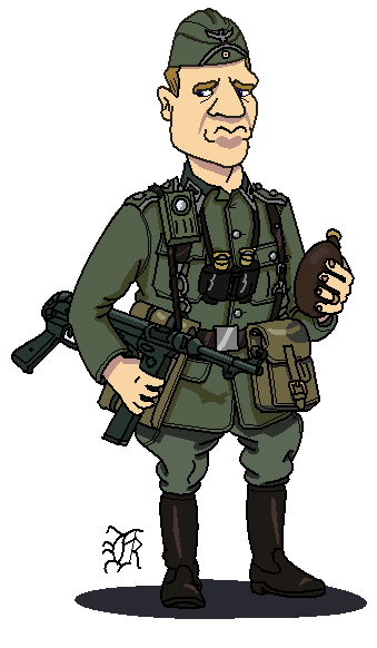 Soldiers clipart wwii Darthpandanl darthpandanl by German_Army_WWII_Soldier German_Army_WWII_Soldier