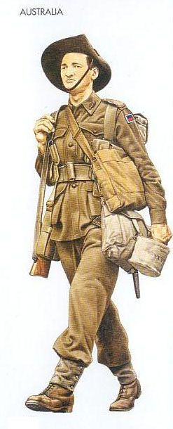 Soldier clipart wwii Uniforms North Africa Jan Division