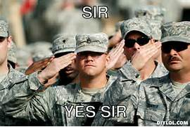 Soldier clipart yes sir Yes Sir Yes Meme 26406