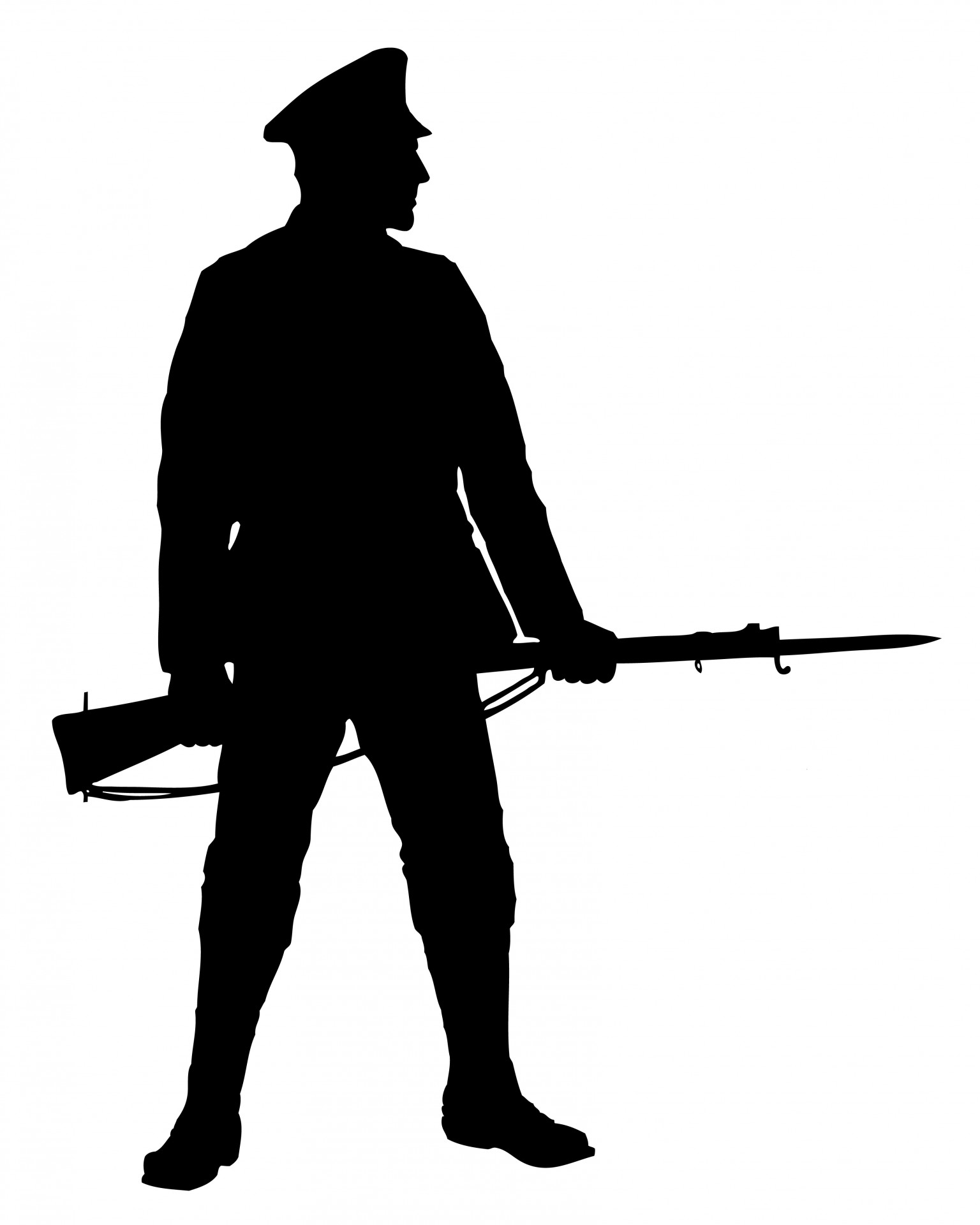 Soldiers clipart sniper rifle Soldiers weapons With collection Clipart