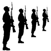 Soldiers clipart sniper rifle Illustration Art GoGraph soldiers a