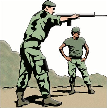 Soldiers clipart army commander Clipart shooting Photos Images Graphics