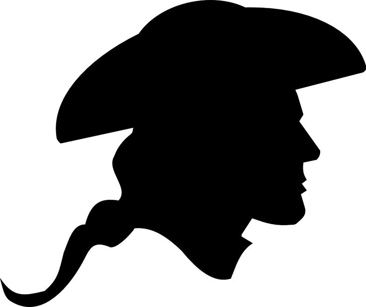 Soldiers clipart american colonial War Pinterest silhouette 20+ ideas