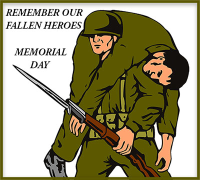 Soldiers clipart animated Day Memorial Free Memorial soldier