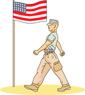 Soldiers clipart army marching Soldier for  Size: Pictures