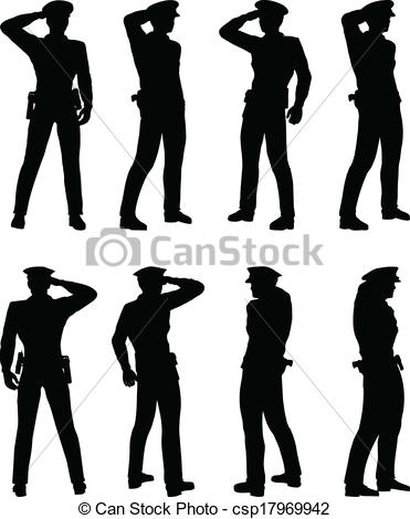 Soldier clipart captain Soldier of officer EPS EPS