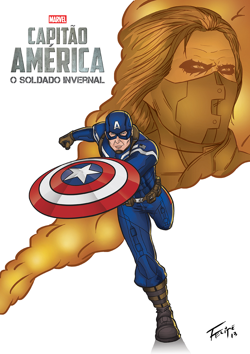 Soldier clipart captain The America Winter by felipef777