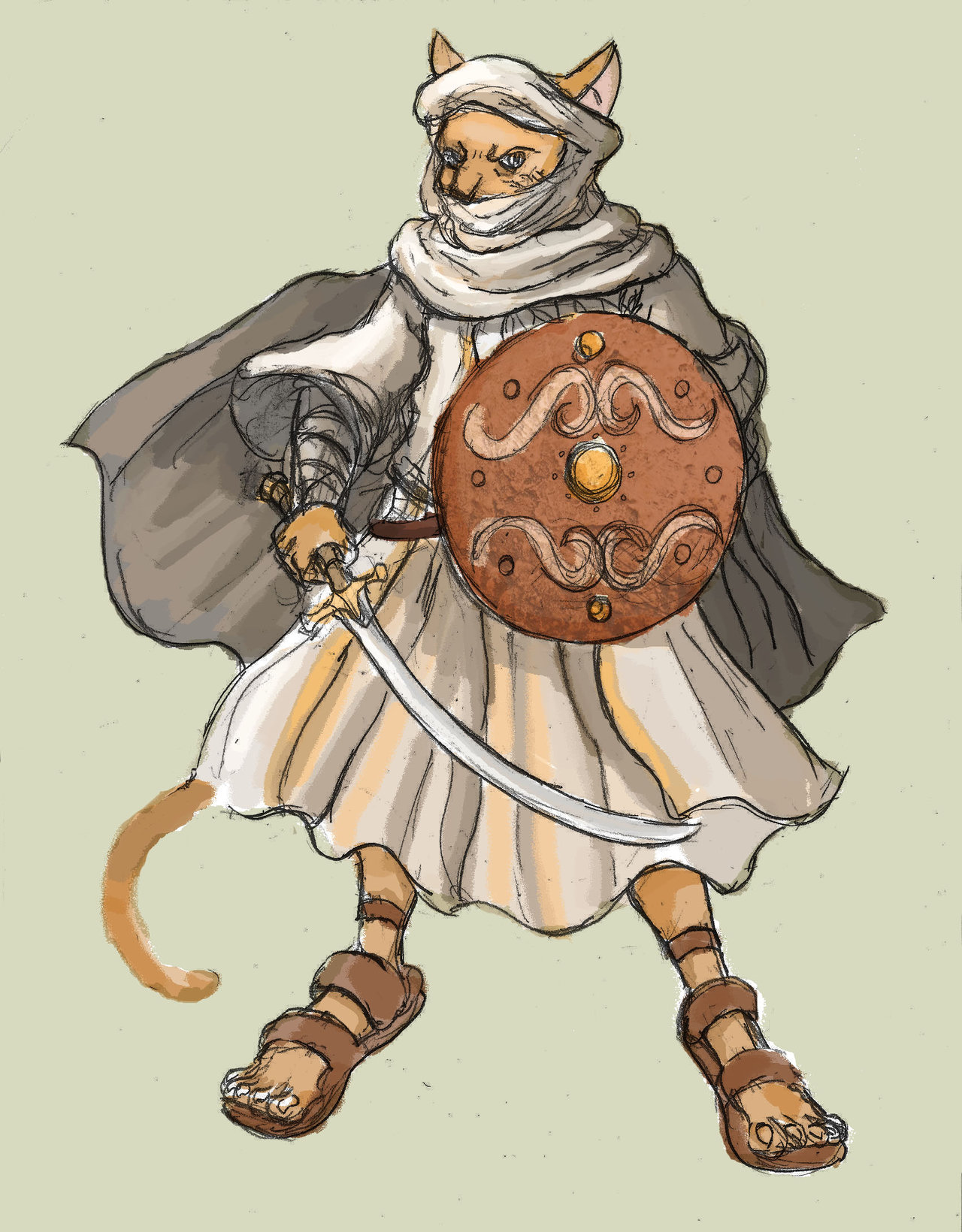 Soldiers clipart cat The Soldiers Arabian Ancient Warrior