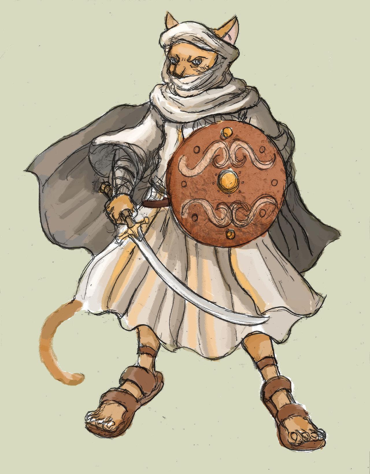 Soldiers clipart cat Soldiers Arabian DeviantArt Era 37