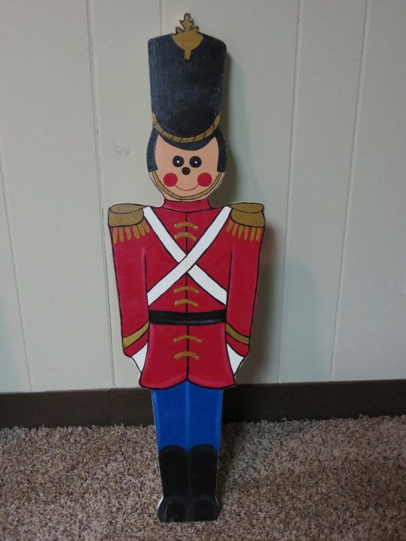 Soldiers clipart christmas soldier Toy Wood christmas Nutcrackers Yard