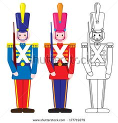Soldiers clipart christmas soldier Soldier Vintage Google soldiers Toy