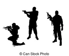 Soldier clipart commando Art Commando soldiers Commando Clip