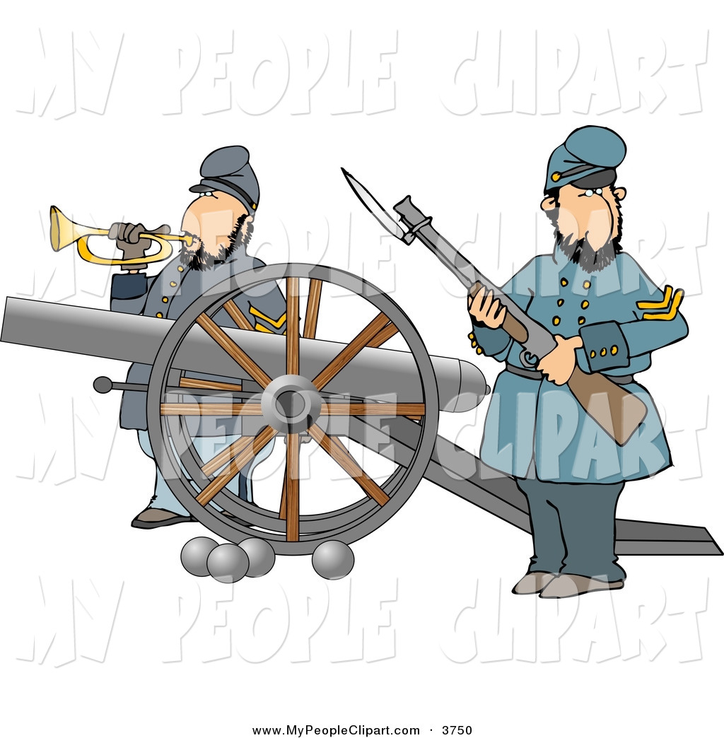 Soldiers clipart couple A a of Couple Rifle