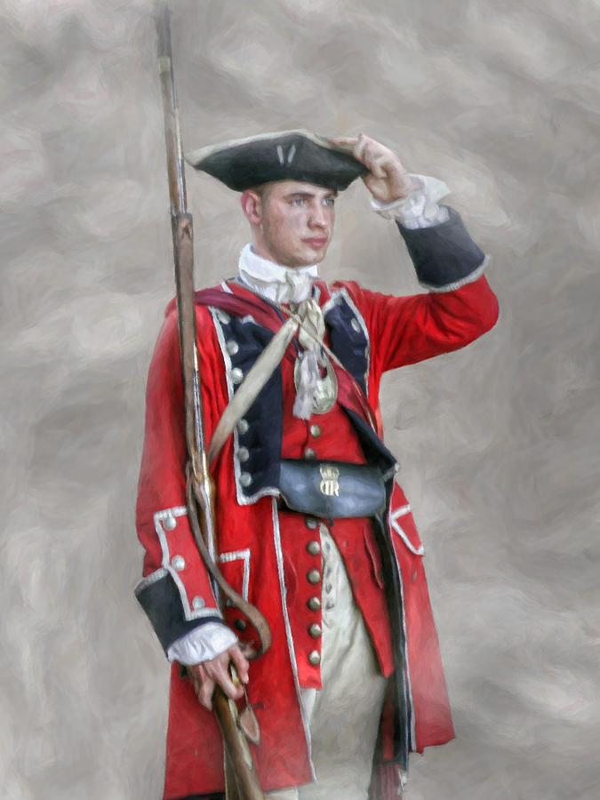 Soldiers clipart english soldier War British Young Revolutionary British