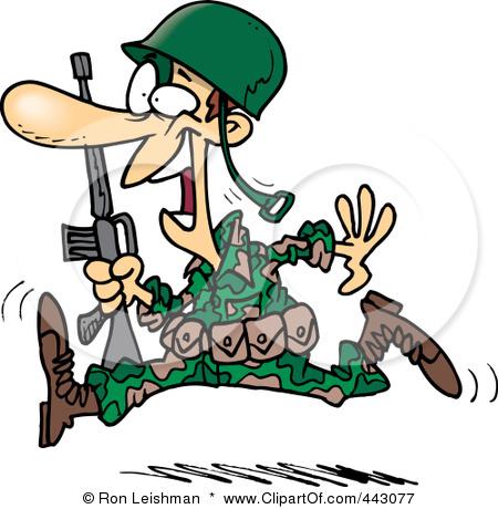 Soldier clipart cartoon Art Clip Free Nigerian Clip