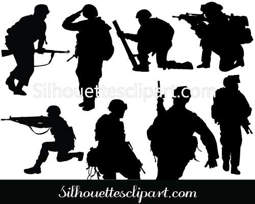 Soldier clipart graphic Soldier  Vector Download Graphics