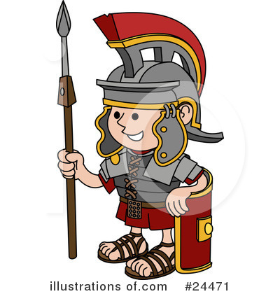 Soldiers clipart illustration #24471 by AtStockIllustration Soldier by