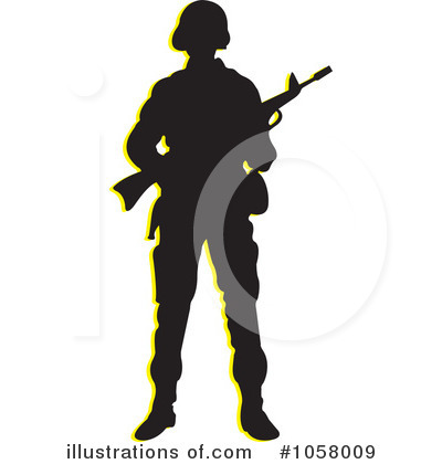 Soldiers clipart illustration Clipart by by Perera Illustration