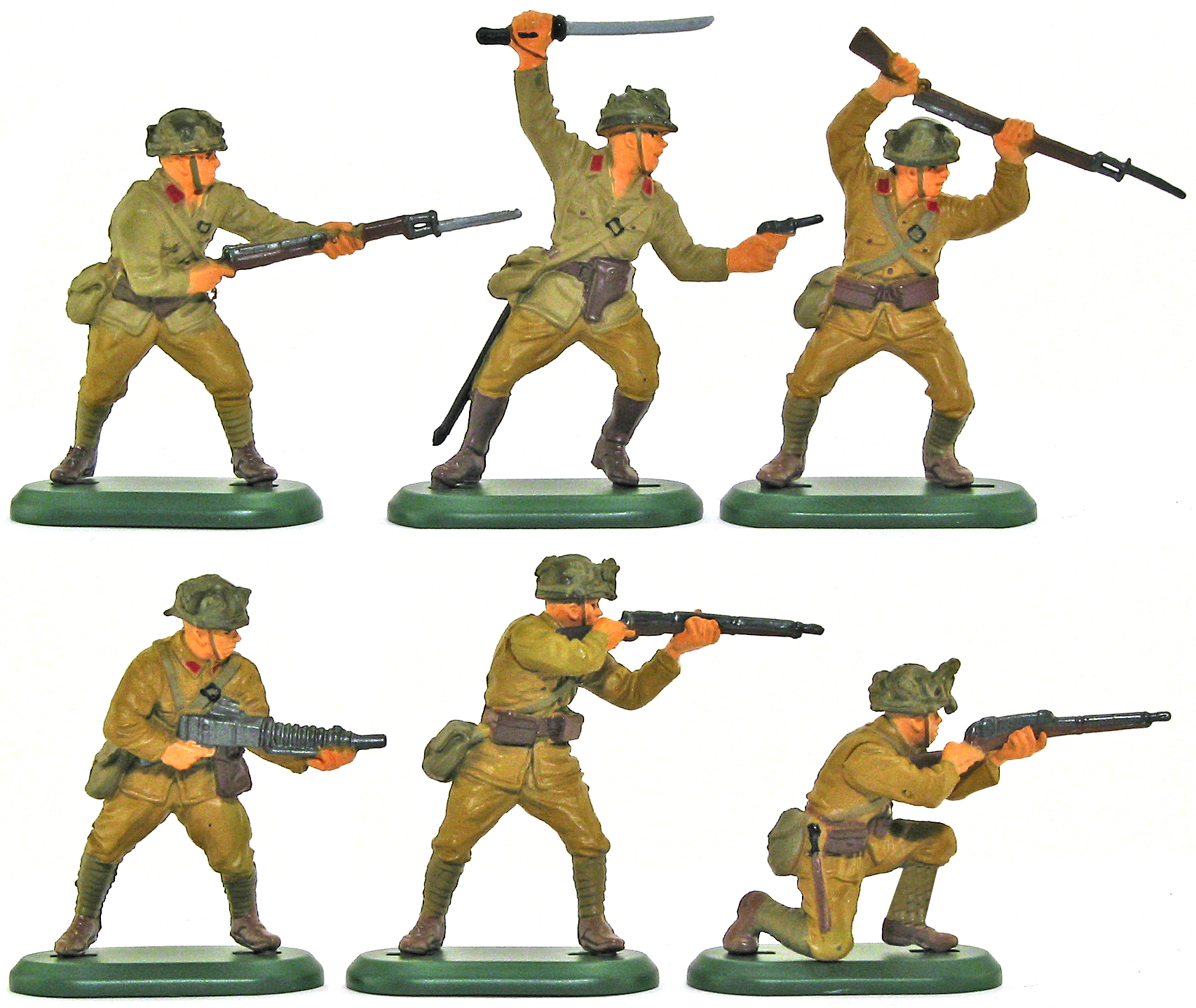 Soldiers clipart japan Current Set Toy WWII 7352g