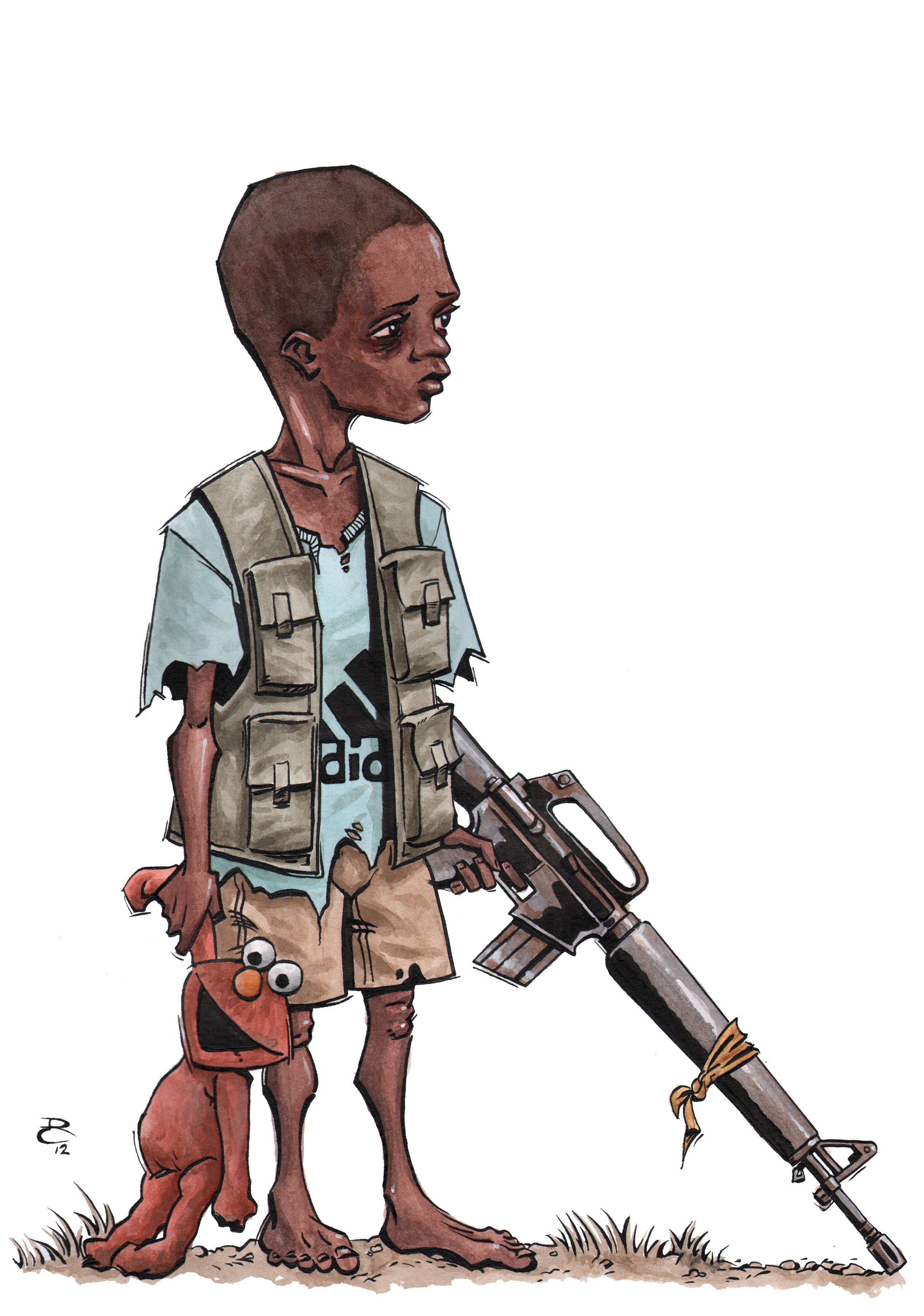 Soldiers clipart kid Not anymore TOTO in we're