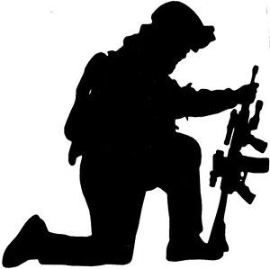 Soldiers clipart japan SILHOUETTE / KNEELING Pick Details
