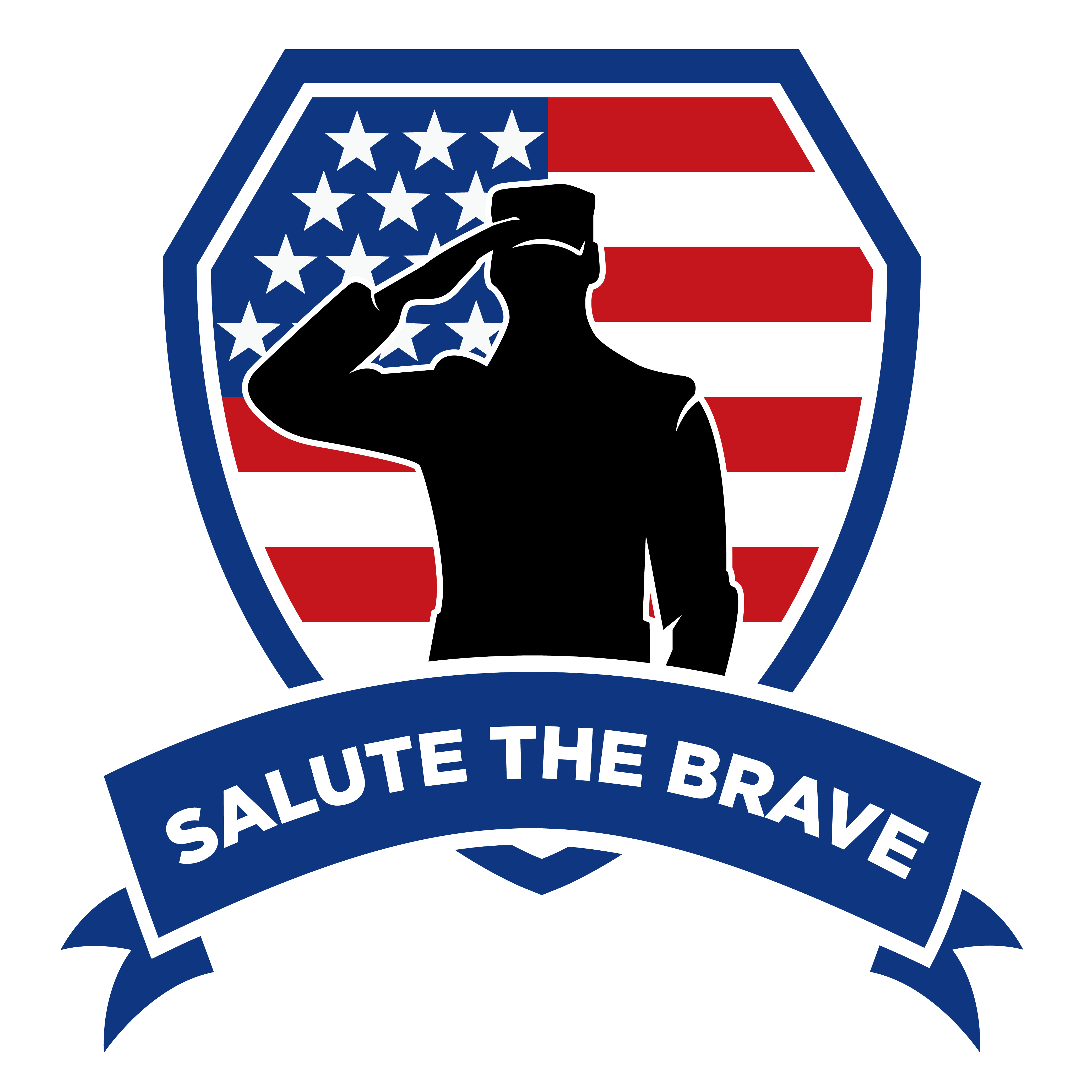 Soldiers clipart salute logo Salute From The Honors Help