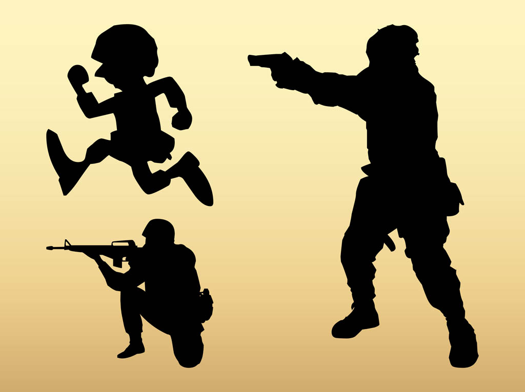 Soldiers clipart soldier shooting Free Free Soldiers Download Art