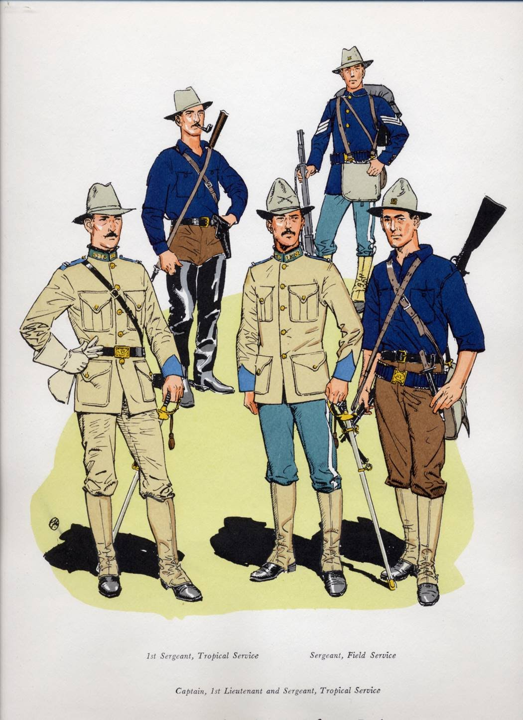 Soldiers clipart spain US American The … War