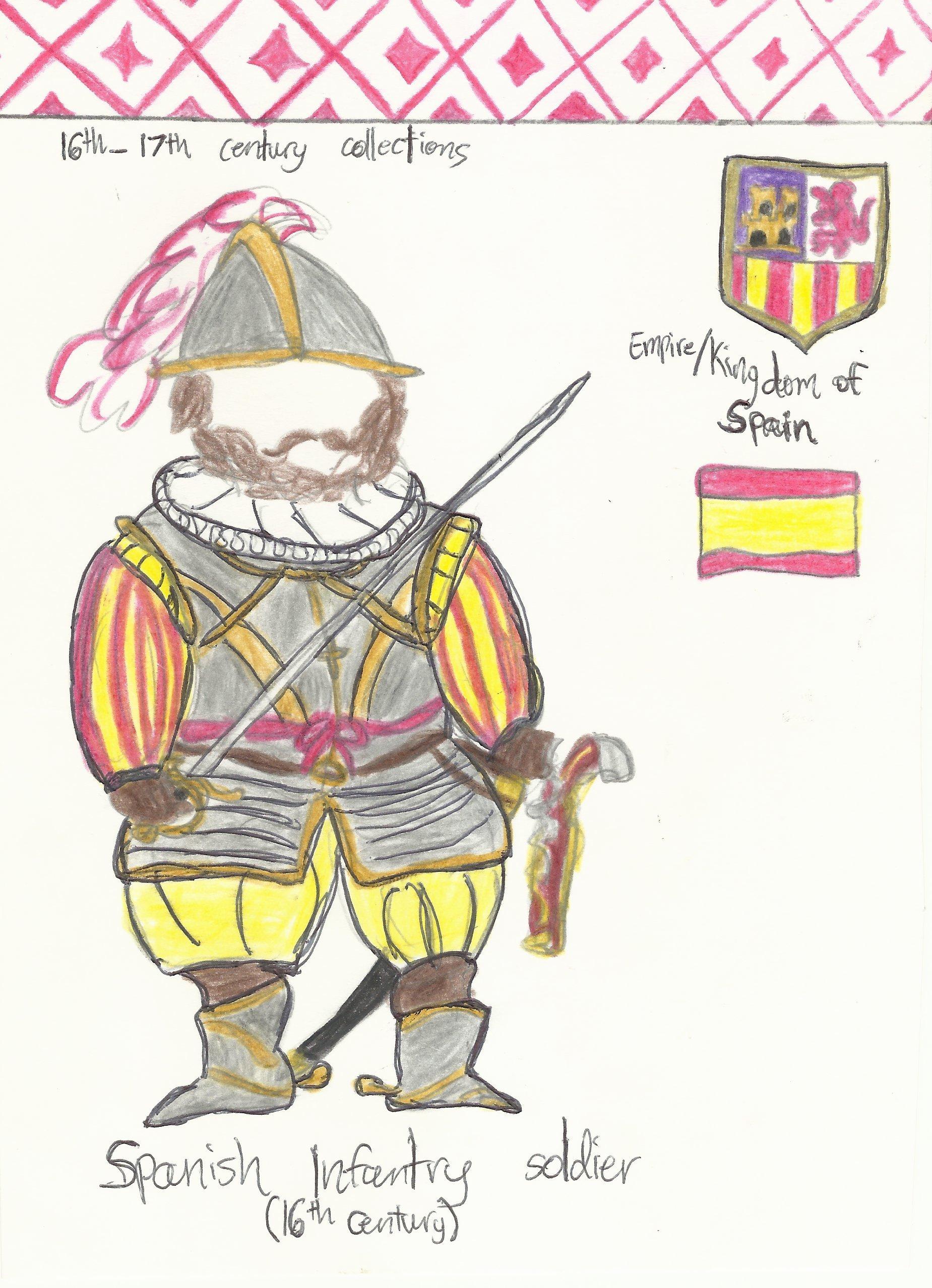 Soldiers clipart spain Spain P soldier  Celdran's