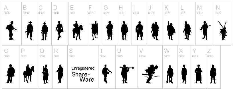 Soldiers clipart ww2 soldier By com 2 Dingbat font