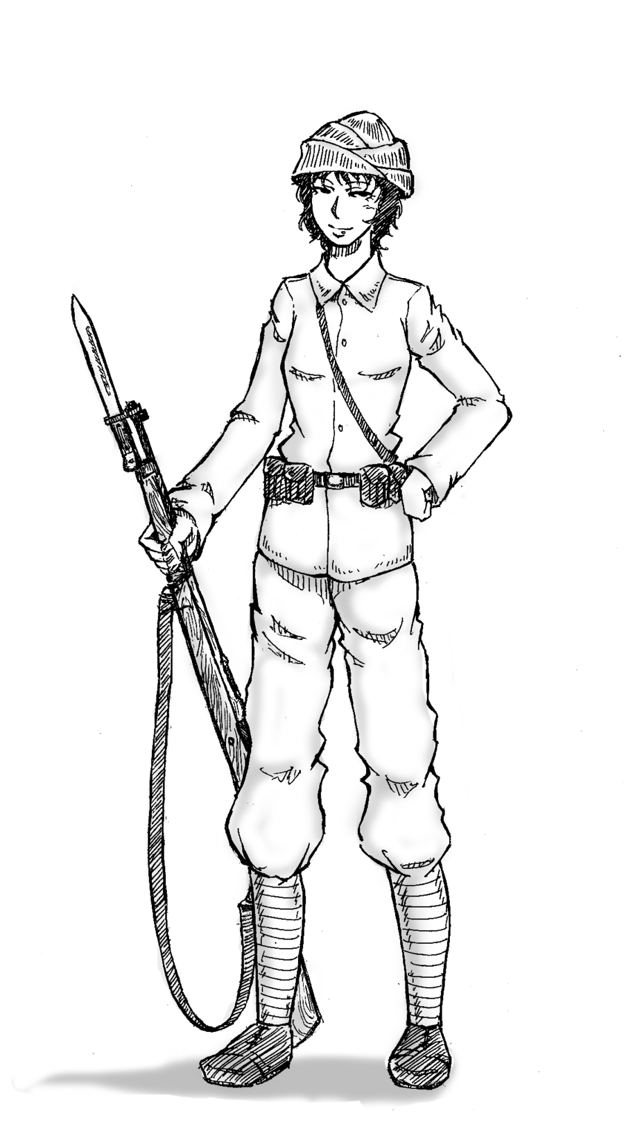 Soldiers clipart wwi soldier White Zone clipart black Cliparts
