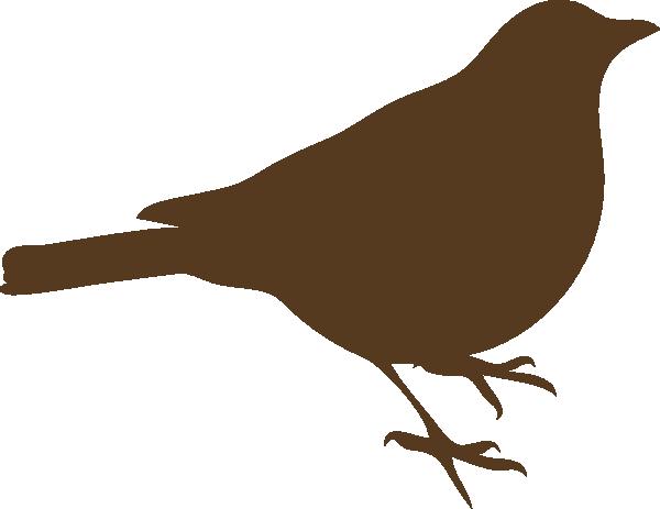 Songbird clipart Clker com Brown Bird at