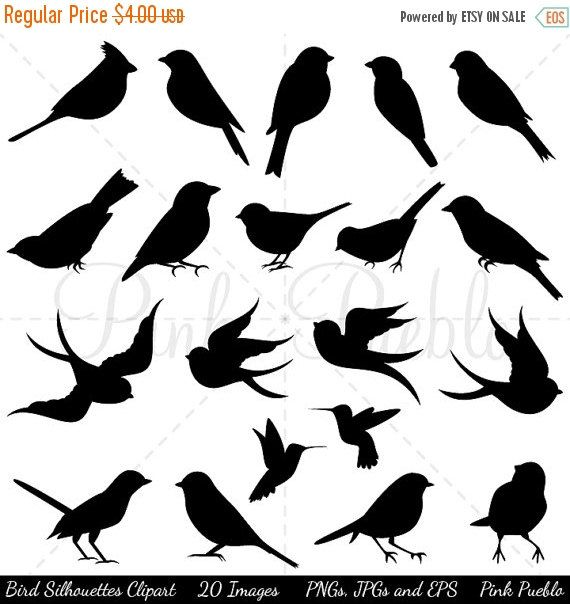Red Headed Finch clipart etsy Silhouette and Pinterest Bird ideas