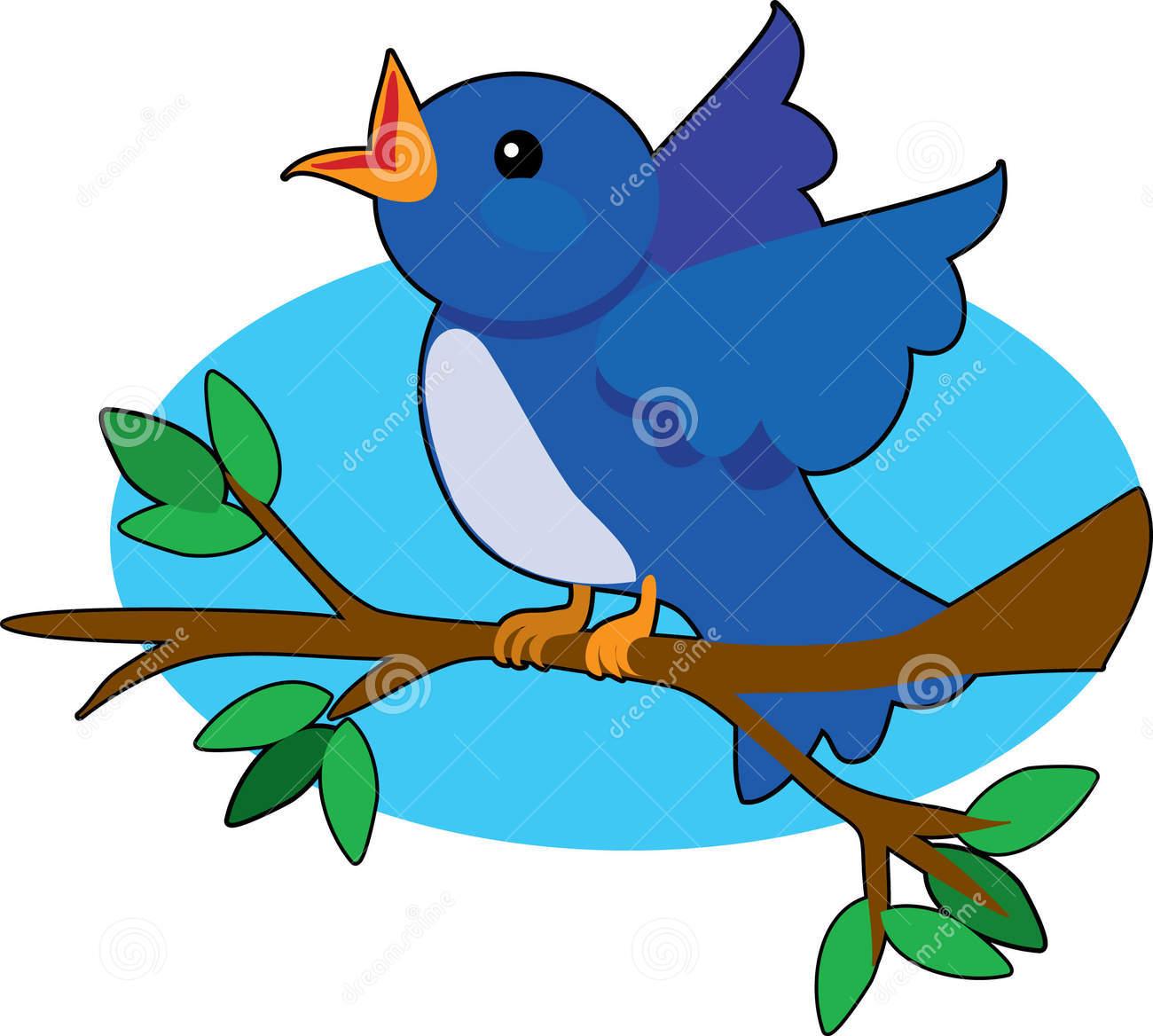 Nest clipart chirping bird #1