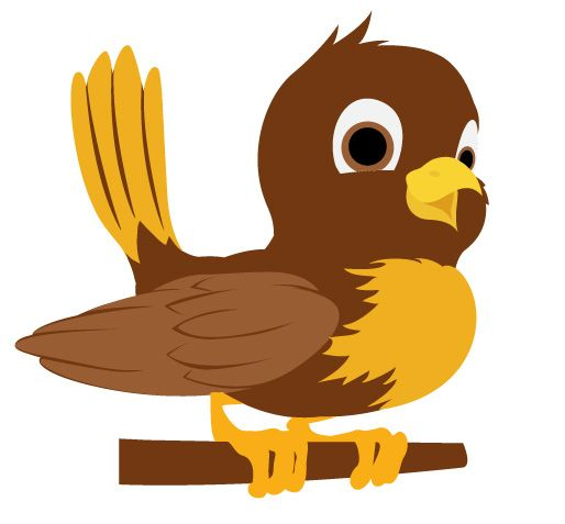 Pidgeons clipart sparrow Pinterest this Bird Digital Vector