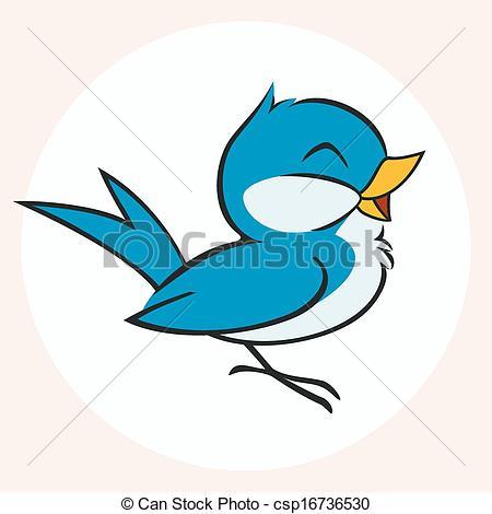 Bluebird clipart little bird Of Vectors Little  Blue