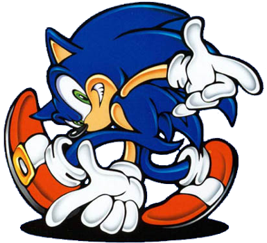 Sonic The Hedgehog clipart #9