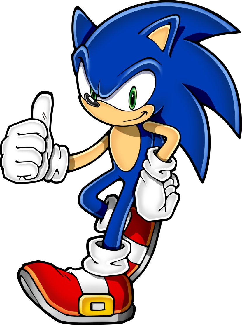 Sonic The Hedgehog clipart #11