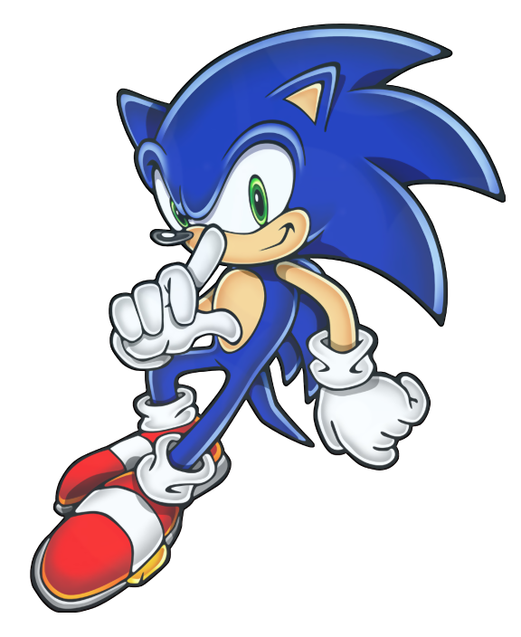 Sonic The Hedgehog clipart #13