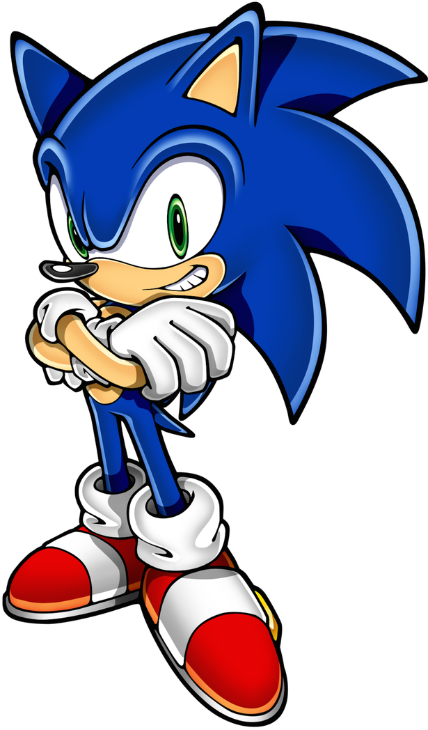 Sonic The Hedgehog clipart The from Sonic fins gene'