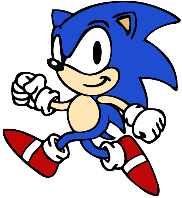 Sonic The Hedgehog clipart #3