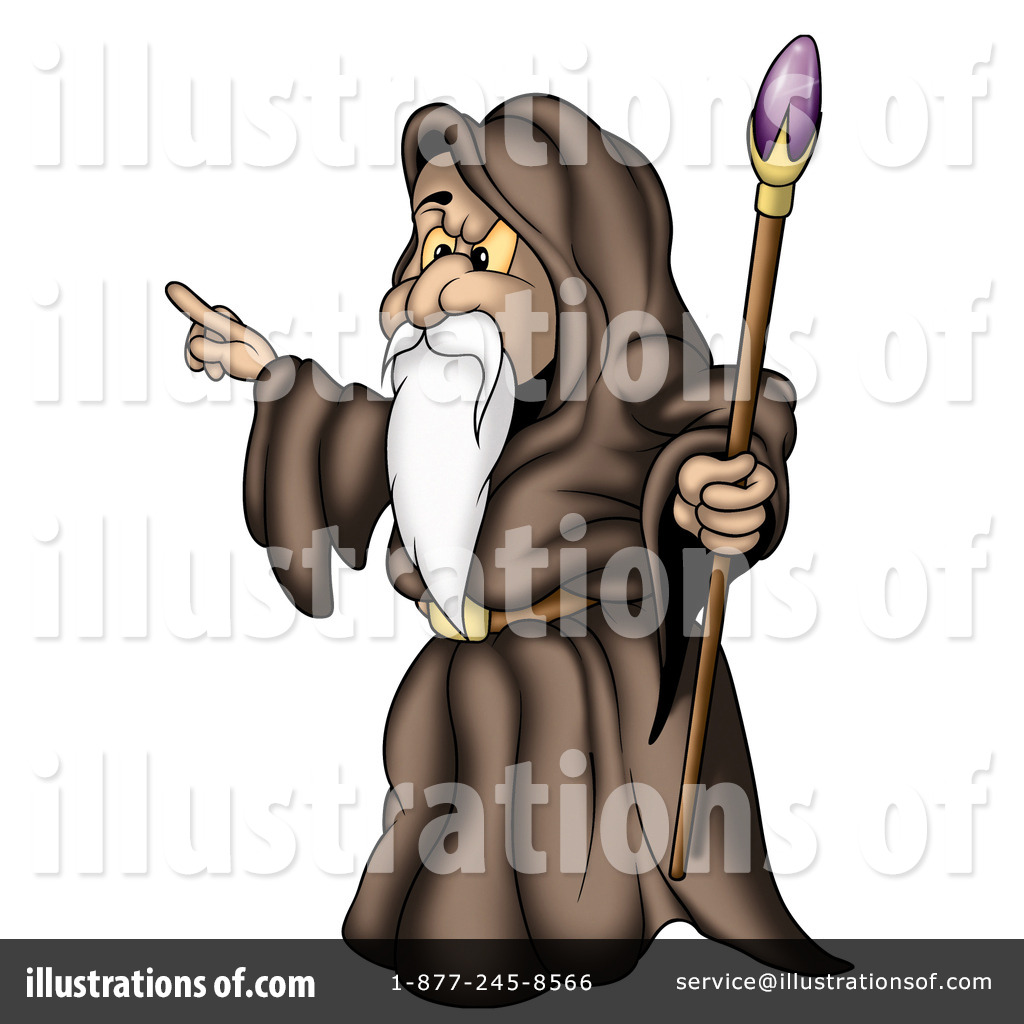 Sorcerer clipart Royalty dero by Illustration by