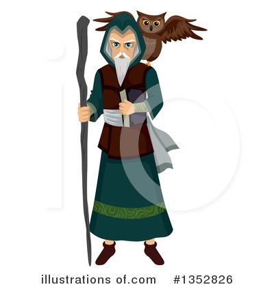 Sorcerer clipart By by Sorcerer Illustration Clipart