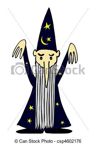 Sorceress clipart magician 382 Clipart of Sorcerer vector