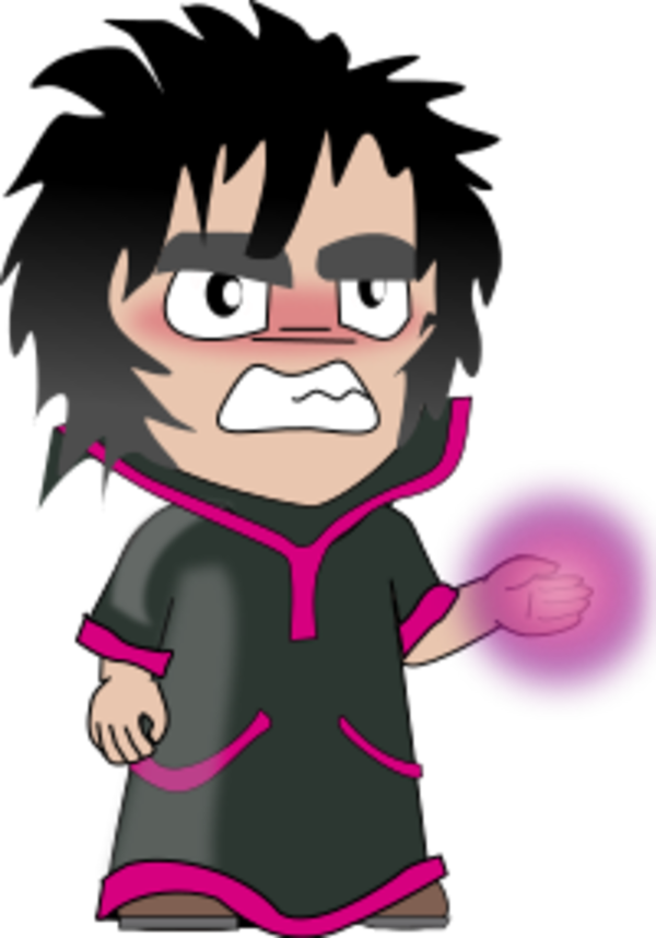 Sorcerer clipart angry Person sorcerer  Art on
