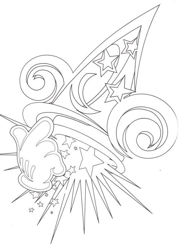 Sorcerer clipart coloring : le  Colour en