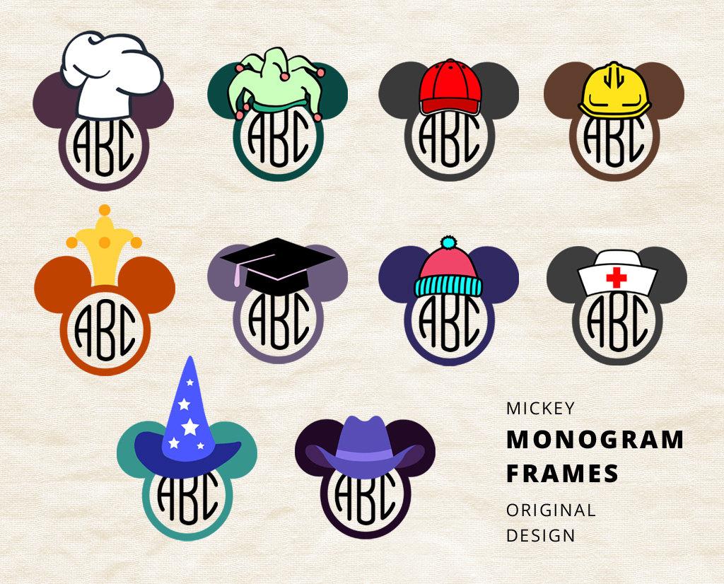 Sorcerer clipart math Clipart Mickey Etsy Monogram svg