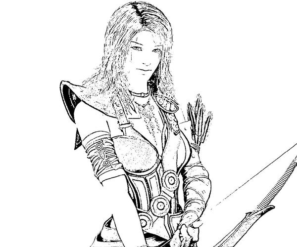 Sorceress clipart coloring Pages Coloring Pages Coloring Pages/page/2