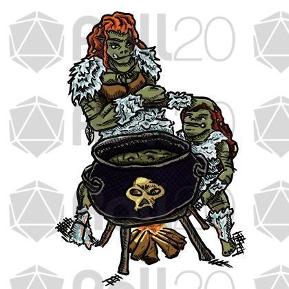 Sorceress clipart warlock Marketplace Pack orc Classes KLRG
